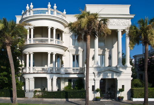 Mansion in Charleston, South Carolina. Photo via.